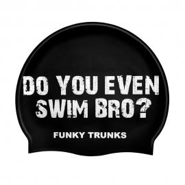 Bonnet Funky Trunks swim bro