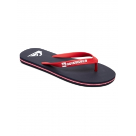 Tongs Quiksilver Molokai XBRB Blue / Red / Blue
