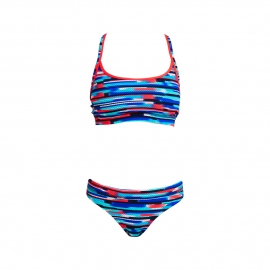 Funkita Femme Meshed Up - 2 pièces - Haut: Sports / Bas: Sports