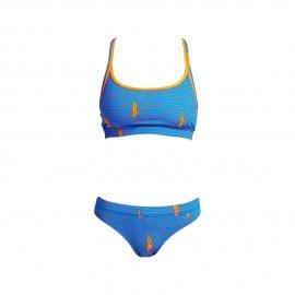 Funkita Fille Ocean Swim - Racerback Two Piece - Maillot Natation