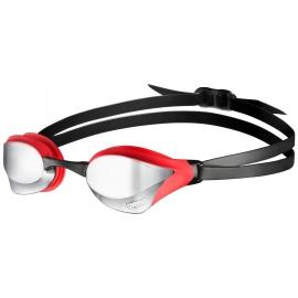 ARENA Cobra Core Mirror - Silver Red Black - Lunettes Natation