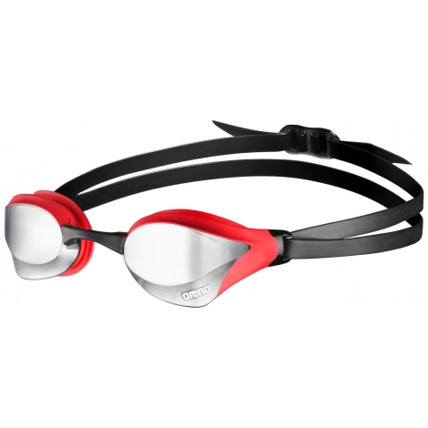 ARENA Cobra Core Mirror - Silver Red Black - Lunettes Natation
