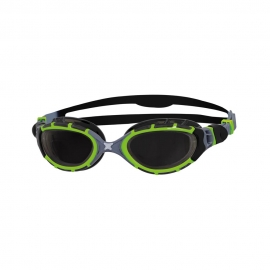 Lunettes Zoggs Predator Flex Titanium REACTOR PhotoChromic Green - Black - Smoke