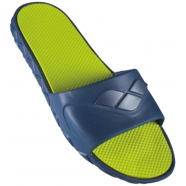 Arena WATERGRIP M - Navy Lime - Claquettes Hommes