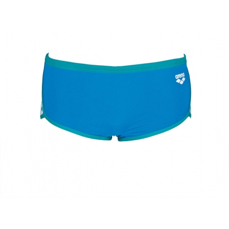 Arena Team Stripe - Low Waist Short - Pix Blue / Persian Green - Boxer Natation Homme