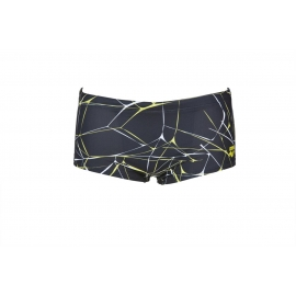 Arena Water Low Waist Short Black - Boxer Natation