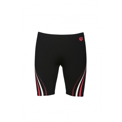 ARENA One Serigraphy Jammer - Black Fluo Red - Jammer Natation