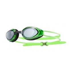 TYR Black Hawk - moke Fluo Green - Lunettes Natation