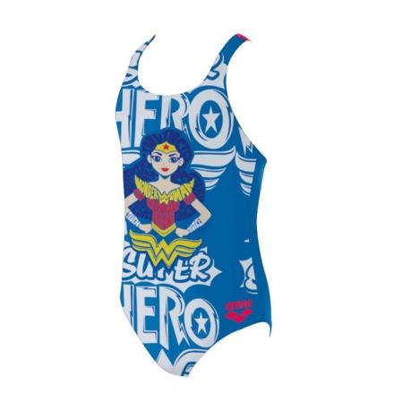 Arena G SUPER HERO JR ONE PIECE WONDER WOMAN - Maillot Fille Natation