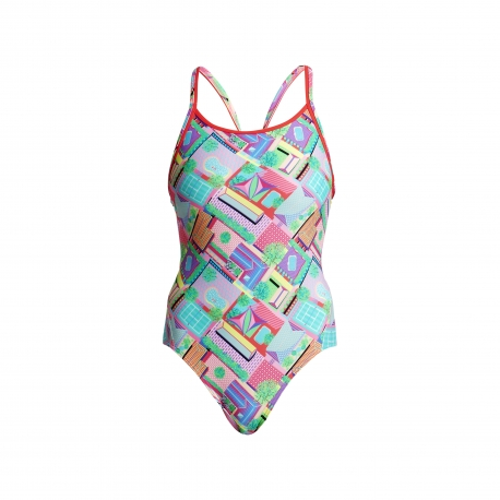 Funkita Street View - Diamond Back - Off the Wall Collection - Maillot Femme Natation
