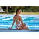 Funkita Minty Mittens - Diamond Back - Off the Wall Collection - Maillot Femme Natation