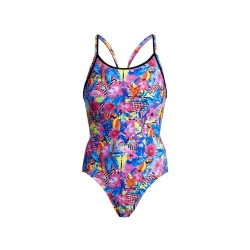 Funkita Club Tropo - Diamond Back - Off the Wall Collection - Maillot Femme Natation