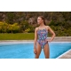 Funkita Secret Code - Diamond Back - Off the Wall Collection - Maillot Femme Natation