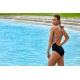 Funkita Dripping - Single Strap - Off the Wall Collection - Maillot Femme Natation