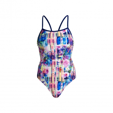 Funkita Alba Wild - Single Strap - Off the Wall Collection - Maillot Femme Natation