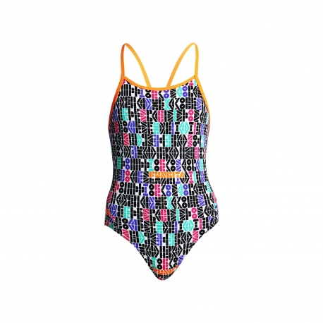 Funkita Fille Secret Code - Diamond Back - Off the Wall Collection