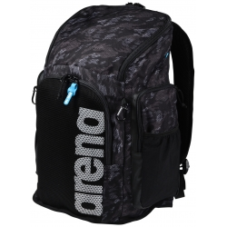 ARENA Team 45 Backpack AO CAMO BLACK - Sac à Dos Natation