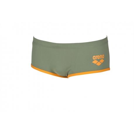 ARENA One biglogo Low waist short - Army Tangerine - Boxer natation Homme