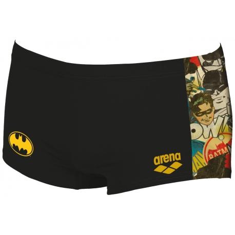 ARENA BATMAN Low waist short - Black multi - Boxer Natation Homme