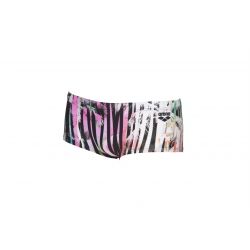 ARENA ONE RIVIERA Low waist short - Black multi - Boxer Natation Homme