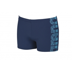 ARENA EQUILIBRIUM SHORT NAVY-SEA BLUE - Aquashort Natation Homme