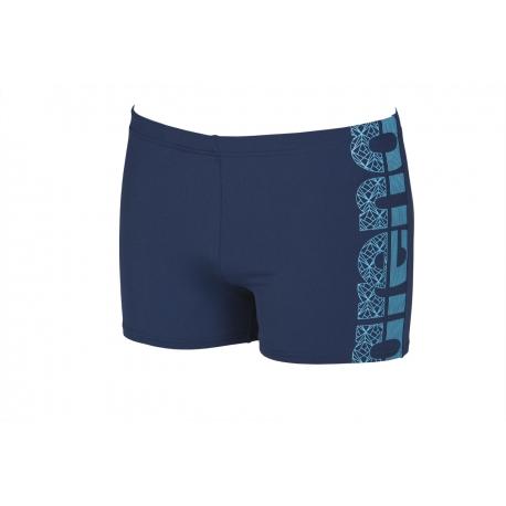 ARENA EQUILIBRIUM SHORT NAVY-SEA BLUE - Aquashort Natation Homme