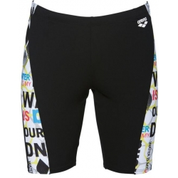 ARENA EVOLUTION JAMMER BLACK-WHITE - Jammer Natation Homme