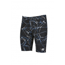 ARENA WATER JAMMER BLACK-GREY - Jammer Natation Homme
