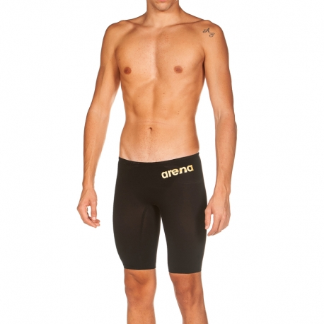 ARENA PowerSkin CARBON Air ² 2 Black Gold - Jammer Natation Homme