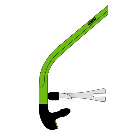 Tuba ARENA Swim Snorkel 2 Acid Lime