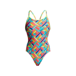 FUNKITA Panel Pop - Diamond Back - Maillot Femme Natation