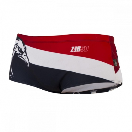 ZEROD Swim TRUNKS USA - Boxer Natation Homme
