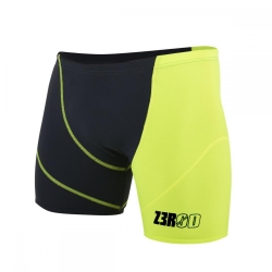 ZEROD Swim BOXER GREY/FLUO - Aquashort boxer Natation Homme