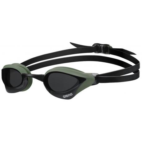 ARENA Cobra Core - Smoke Army Black - Lunettes Natation