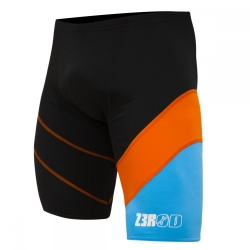 ZEROD Swim JAMMER BLACK/ATOLL/ORANGE - Jammer Natation Homme