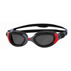 Lunettes Zoggs PREDATOR FLEX POLARIZED - BLACK / RED / SMOKE