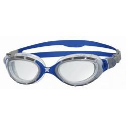 Lunettes Zoggs PREDATOR FLEX - SILVER / BLUE / CLEAR