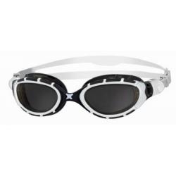 Lunettes Zoggs PREDATOR FLEX - WHITE / BLACK / SMOKE