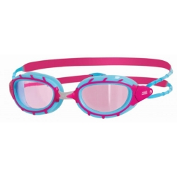 Lunettes Zoggs Predator Junior Clear/Pink/Blue
