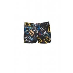 ARENA Rowdy Short Black Multi -Boxer Natation Garçon