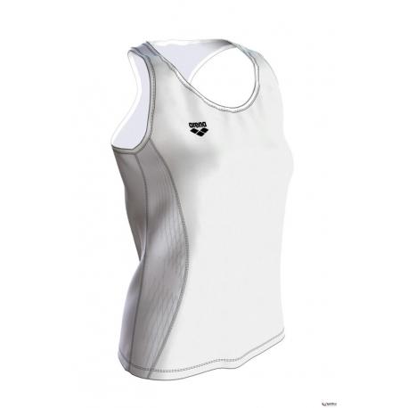 ARENA RUN TANK Top - White White - Débardeur Running Femme