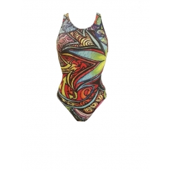 Maillot de bain SWEAMS PSYCHADELIC - Maillot femme 1 piece