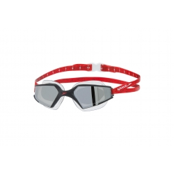 SPEEDO Aquapulse Max 2 Mirror - Black Red Silver - Lunettes Natation