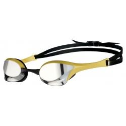 ARENA Cobra Ultra Swipe Mirror - Silver Gold - Lunettes Natation