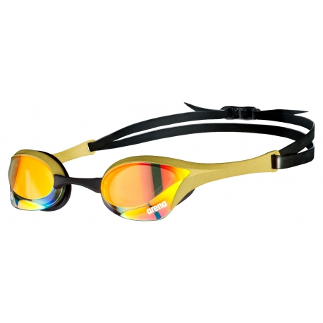 ARENA Cobra Ultra Swipe Mirror - Yellow Copper Gold - Lunettes Natation