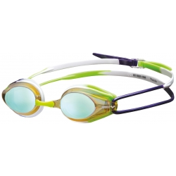 Arena TRACKS MIRROR Yellow Purple Green - Lunettes Natation
