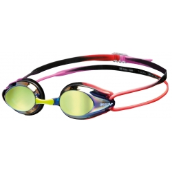 Arena TRACKS MIRROR Purple Red - Lunettes Natation