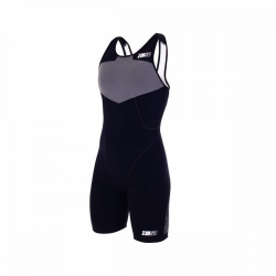 Trifonction Triathlon Femme ZEROD elite TRISUIT WOMAN BLACK SERIES
