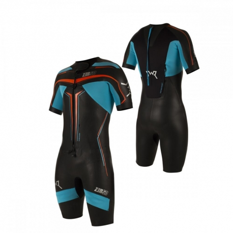Combinaison SWIMRUN ZEROD SWR ELITE - BLACK/ATOLL - New 2019