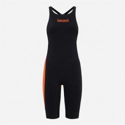 JAKED J KEEL Black Orange - Dos Ouvert / Open Back - Combinaison Femme Natation Compétition